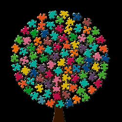Puzzle-Baum